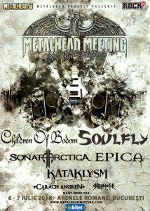 SOULFLY confirmați la Metalhead Meeting Festival 2018