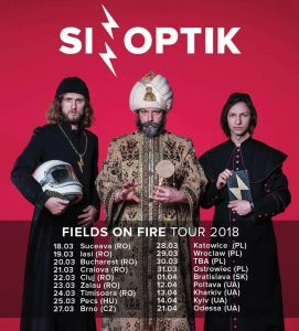 Sinoptik pleacă în Fields on Fire Tour 2018
