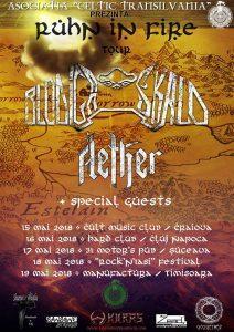 Turneu Blodiga Skald (Italia) şi Aether (Polonia) în Craiova, Cluj-Napoca, Suceava, Iaşi şi Timişoara