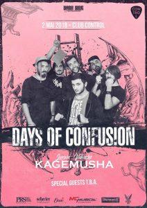 "Days of Confusion lansează videoclipul ""Kagemusha"""