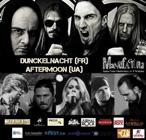 DunkelNacht (Fr) & Aftermoon (Ua) LIVE în Timișoara