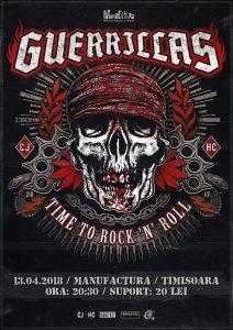 Concert Guerrillas (RO) LIVE în Timișoara