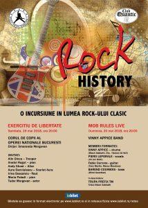 ROCK HISTORY – Exercițiu de Libertate și Mob Rules, în Quantic