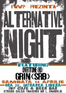 Grin și Overtone la Alternative NIGHT