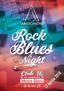 Concert ARISTOPATHS în Club 16