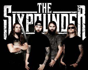 The Sixpounder cântă pentru prima dată în România