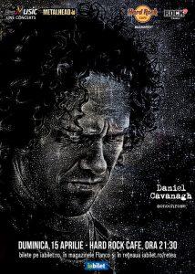 Daniel Cavanagh (Anathema) în concert extraordinar la Hard Rock Cafe