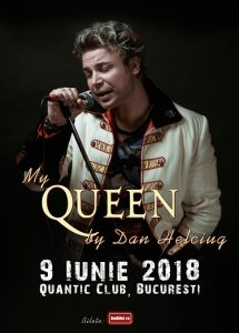 My Queen by Dan Helciug – pe terasa Quantic Club, București