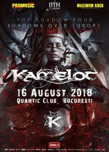 """Kamelot prezintă noul album """"The Shadow Theory"""" printr-un concert live la București"""