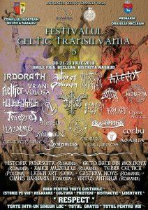 Festivalul Celtic Transilvania, ediția 2018 – Beclean, Bistrița Năsăud