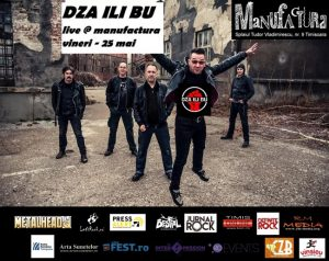 DZA ILI BU, una dintre cele mai vechi trupe de punk-rock din Serbia, cântă la Timișoara