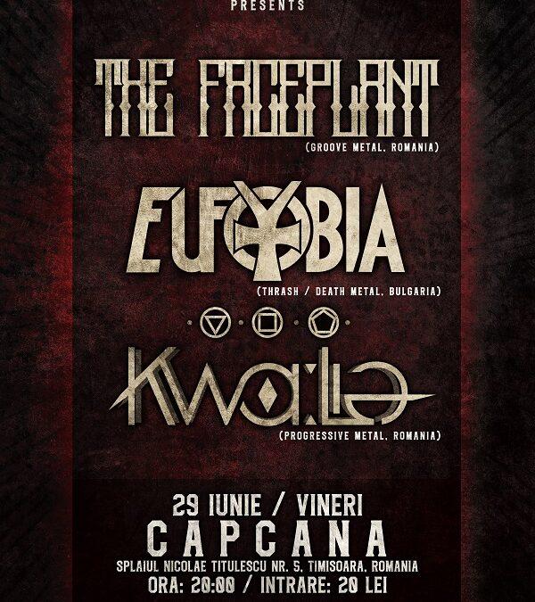 Trupa Eufobia revine în România cu un show în Timișoara și unul în cadrul festivalului Rock Camp din Satu Mare