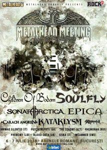 Opt nume noi la Metalhead Meeting, ultima săptămână de presale și bilete de o zi