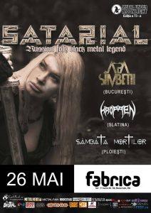 Programul concertului Satarial de sâmbătă: peste patru ore de black metal!