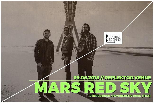 Călătorie în universul muzicii Stoner-Psychedelic prin programul spațial MARS RED SKY