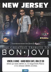 Concert tribut Bon Jovi cu New Jersey pe 8 iunie la Hard Rock Cafe