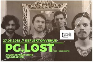 Concert eveniment pentru fanii post-rock: PG.LOST lie în Timișoara