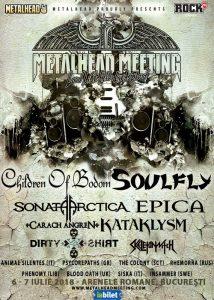 DIRTY SHIRT închide afișul Metalhead Meeting Festival 2018