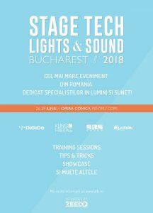 Stage Tech: Lights & Sound, primul eveniment dedicat tehnologiei pentru industria de entertainment are loc în perioada 26-29 iunie la București