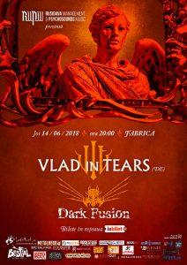 Concert Vlad in Tears și Dark Fusion în Fabrica
