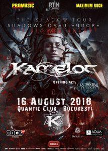 A fost anunțată trupa care va cânta în deschiderea concertului Kamelot de la București