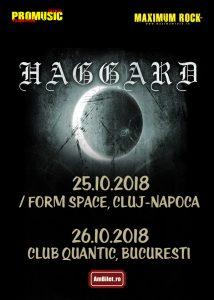 HAGGARD anunță două concerte în România