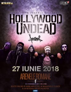 Hollywood Undead la București: Program și Reguli de Acces