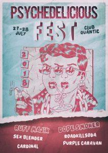 Prima ediție a Psychedelicious Fest, pe 27-28 iulie, la Club Quantic