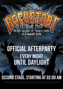 Rockstadt Extreme Fest anunţă after party-uri în fiecare seară de festival