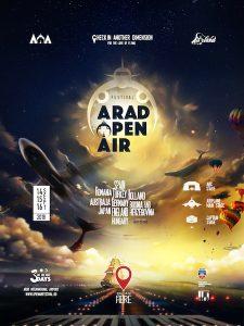 Arad Open Air Festival: 80 de artiști naționali și internaționali, deschid porțile Aeroportului din Arad