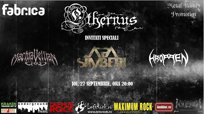 "Ethernus lansează albumul ""Monastery Gates"" în Fabrica"