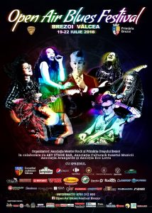 Programul Open Air Blues Festival Brezoi – Vâlcea 2018