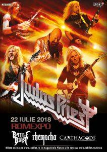 Judas Priest la București: Află cine cântă cu zeii pe 22 iulie!