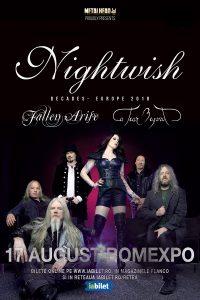 Fallen Arise și A Tear Beyond vor deschide concertul Nightwish