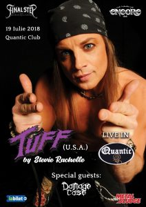 Concert Tuff & Damage Case în Quantic
