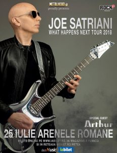 Joe Satriani la București: Program și Reguli de Acces