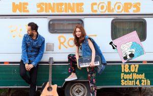 Concert pe plaja in Bucuresti cu We Singing Colors