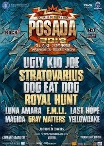 Trupele finaliste și programul complet POSADA ROCK 2018