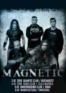 Magnetic revin in Romania cu un nou turneu