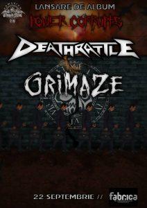 Deathrattle lansează albumul 'Power Corrupts'