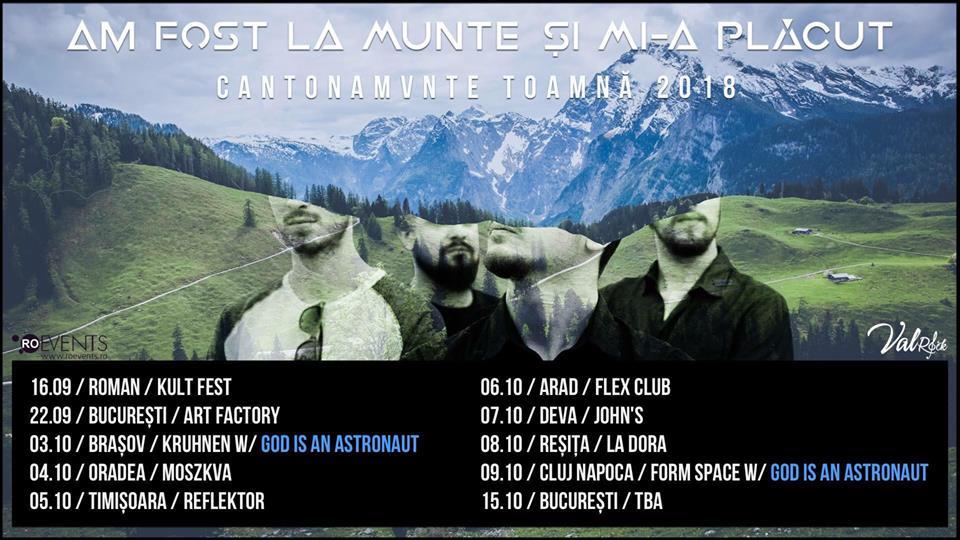 Am Fost La Munte Şi Mi-a Plăcut va susţine un turneu de 7 concerte în vestul ţării în luna Octombrie