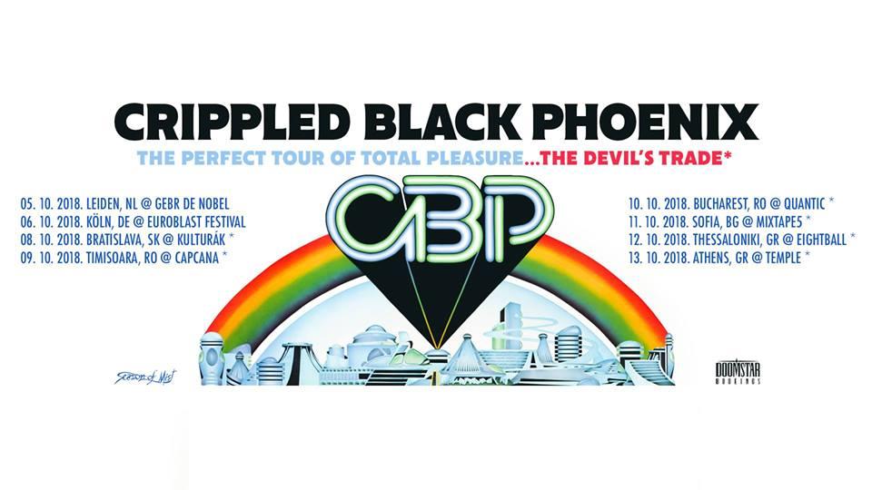 Crippled Black Phoenix va susţine 2 concerte în România la începutul lunii Octombrie