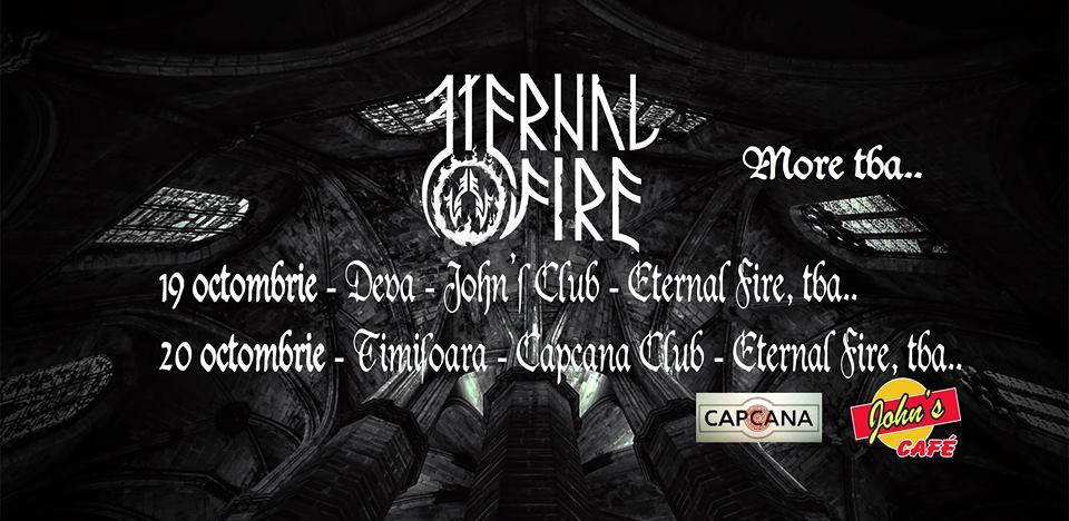 Eternal Fire şi Vathos vor concerta la sfârşitul lunii Octombrie în Deva şi în Timişoara
