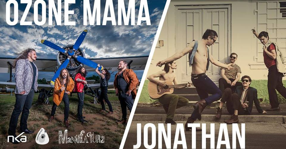 O seară de Hard & Indie Rock cu trupele Jonathan și Ozone Mama la Timișoara