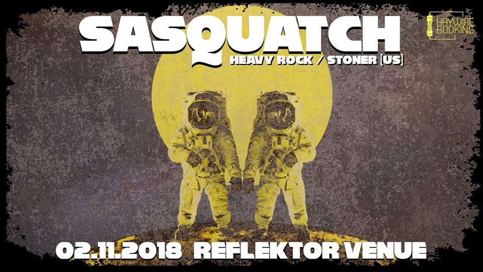 Americanii de la Sasquatch concertează în Reflektor Venue din Timişoara