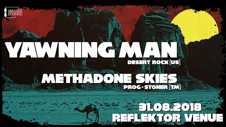Cronică de concert: Yawning Man [U.S.] şi Methadone Skies [RO] în Reflektor Venue Timişoara