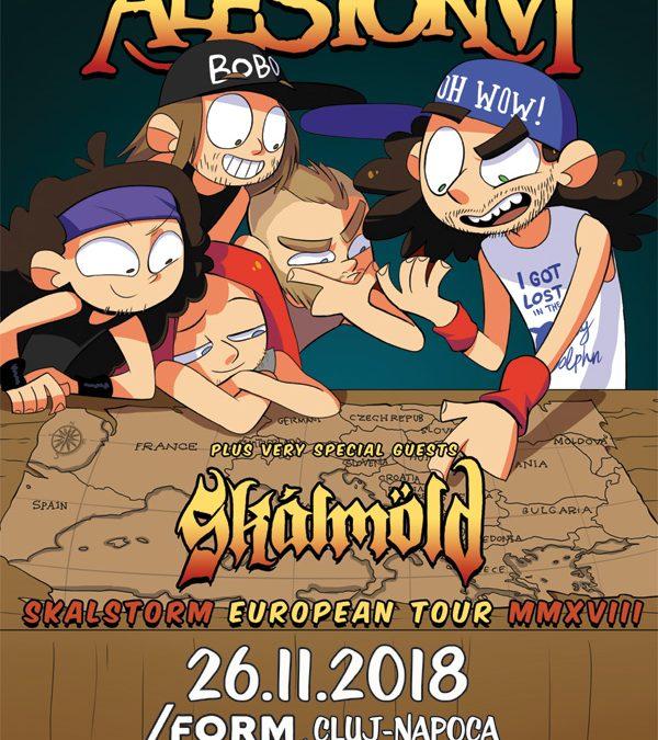 Au mai rămas două zile până la concertul Alestorm și Skálmöld de la Cluj-Napoca