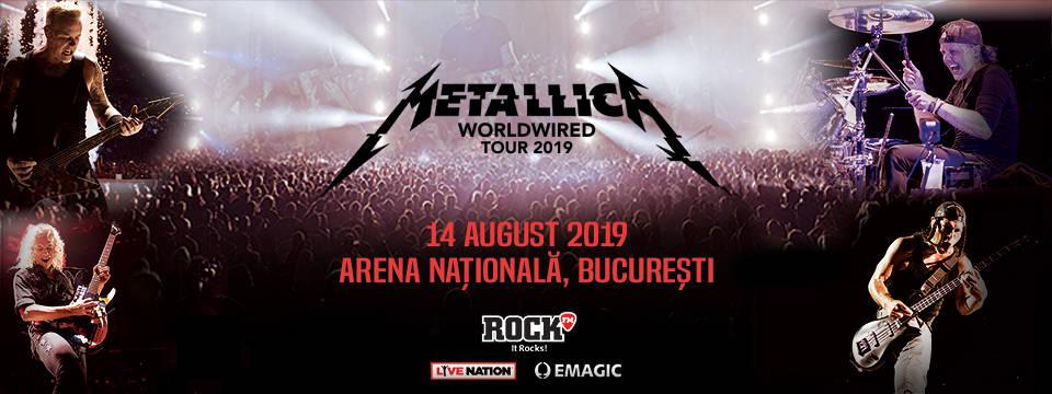 Metallica cântă pe Arena Națională!