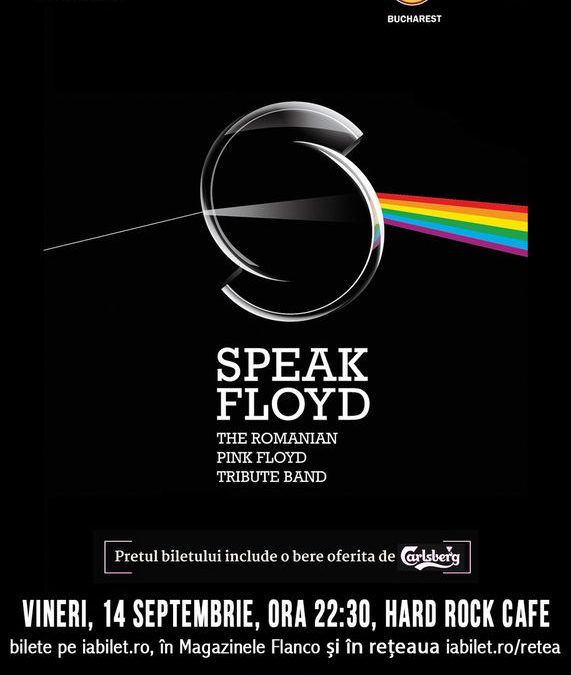 Concert Tribut Pink Floyd cu Speak Floyd pe 14 septembrie la Hard Rock Cafe