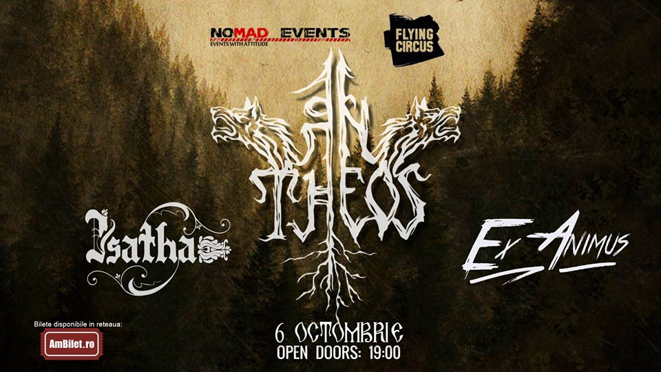 Concert An Theos, Isatha si Ex Animus in Flying Circus Cluj-Napoca